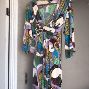 Sky Low-cut Dress Size M
